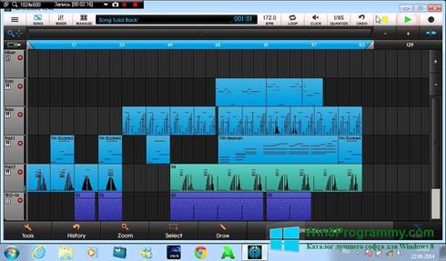 Скриншот программы NanoStudio для Windows 8