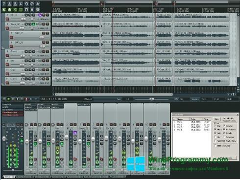 Скриншот программы REAPER для Windows 8