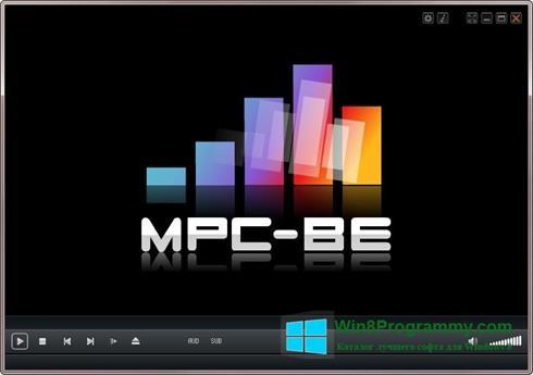 Скриншот программы MPC-BE для Windows 8
