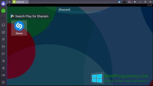 Скриншот программы Shazam для Windows 8