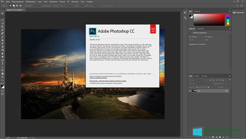 Скриншот программы Adobe Photoshop CC для Windows 8