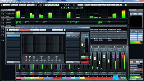 Скриншот программы Cubase для Windows 8