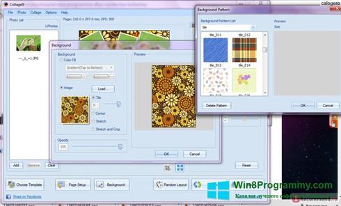Скриншот программы CollageIt для Windows 8