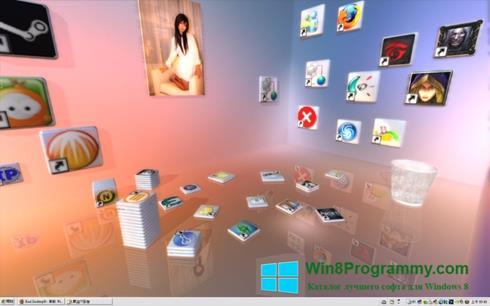 Скриншот программы Real Desktop для Windows 8