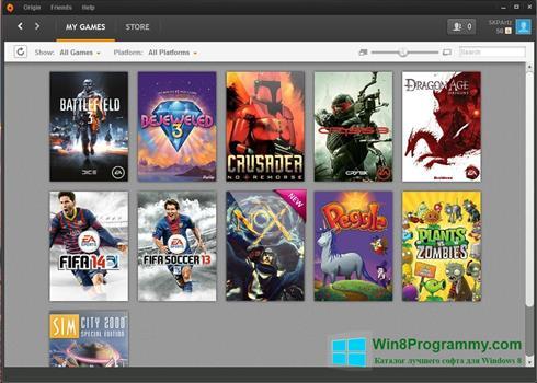 Скриншот программы uPlay для Windows 8