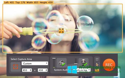 Скриншот программы Movavi Screen Capture для Windows 8