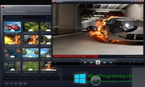 Скриншот программы Action! для Windows 8