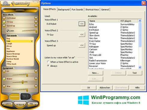 Скриншот программы Scramby для Windows 8