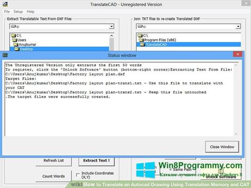 Скриншот программы Translate для Windows 8