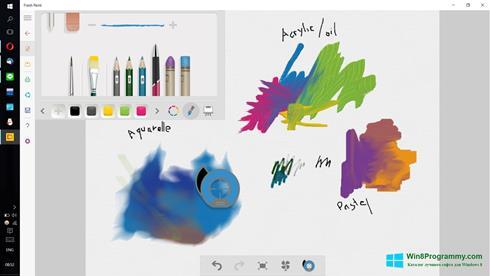 Скриншот программы Fresh Paint для Windows 8