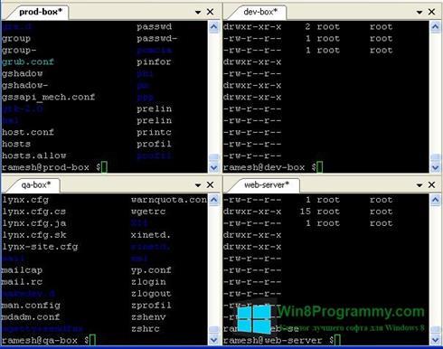 Скриншот программы PuTTY для Windows 8