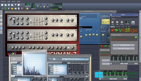 Скриншот программы Linux MultiMedia Studio для Windows 8
