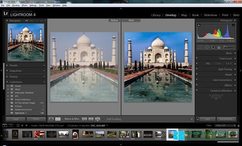 Скриншот программы Adobe Photoshop Lightroom для Windows 8