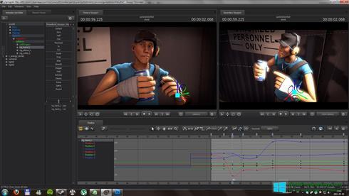 Скриншот программы Source Filmmaker для Windows 8