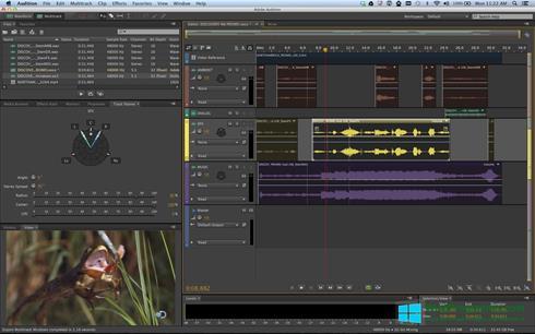 Скриншот программы Adobe Audition для Windows 8