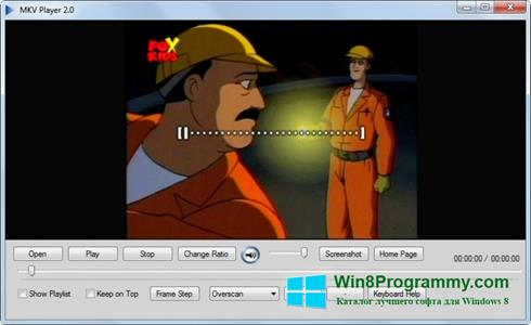 Скриншот программы MKV Player для Windows 8