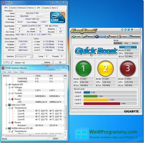 Скриншот программы EasyTune для Windows 8