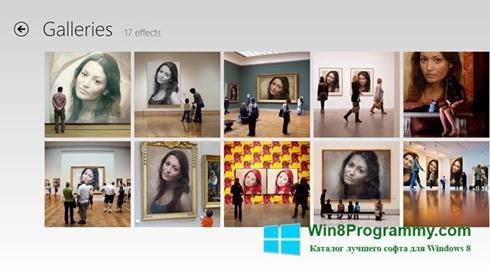 Скриншот программы PhotoFunia для Windows 8