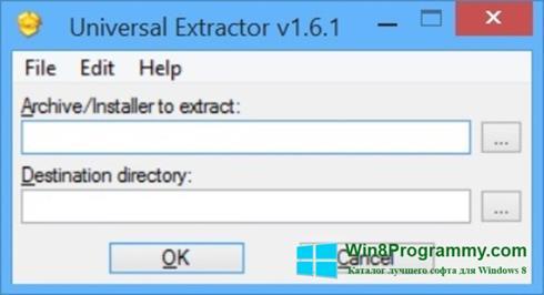 Скриншот программы Universal Extractor для Windows 8
