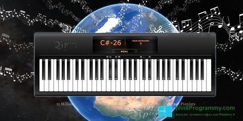 Скриншот программы Virtual Piano для Windows 8