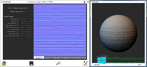 Скриншот программы CrazyBump для Windows 8