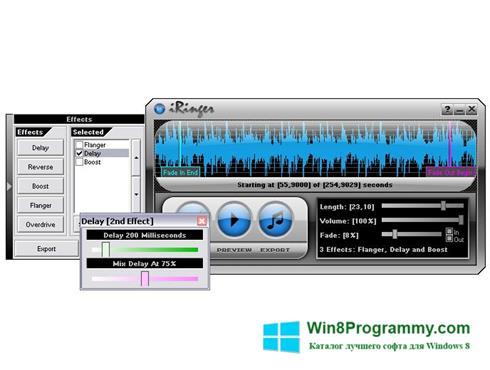 Скриншот программы iRinger для Windows 8