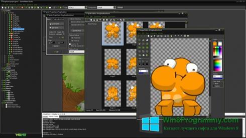 Скриншот программы GameMaker: Studio для Windows 8