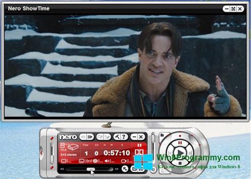 Скриншот программы Nero ShowTime для Windows 8