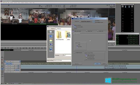 Скриншот программы Avid Media Composer для Windows 8