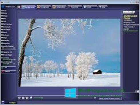 Скриншот программы FotoMix для Windows 8