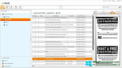 Скриншот программы Neat Image для Windows 8