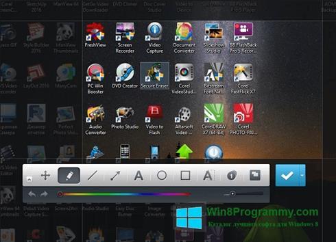 Скриншот программы Joxi для Windows 8