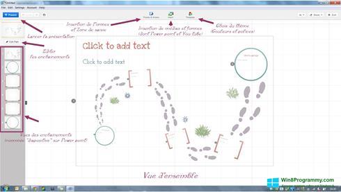 Скриншот программы Prezi для Windows 8