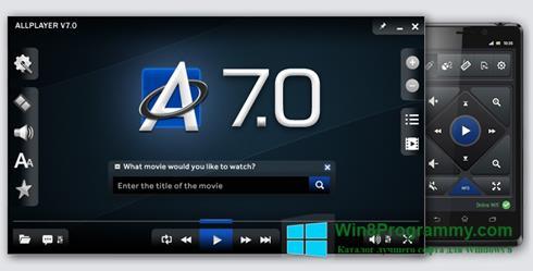 Скриншот программы ALLPlayer для Windows 8
