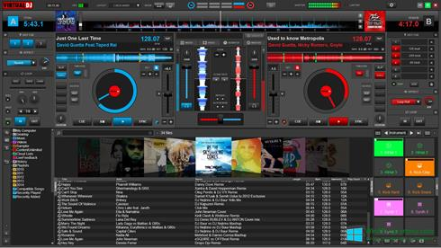 Скриншот программы Virtual DJ Pro для Windows 8
