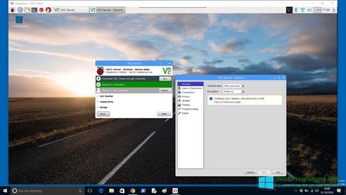 Скриншот программы VNC Viewer для Windows 8