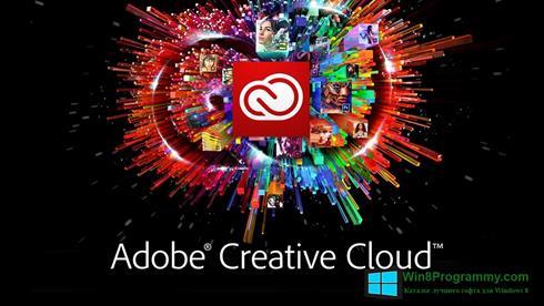 Скриншот программы Adobe Creative Cloud для Windows 8