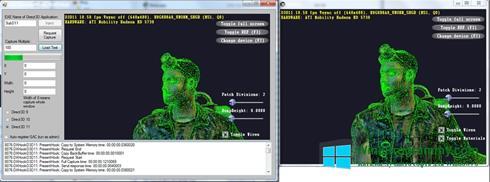 Скриншот программы Direct3D для Windows 8