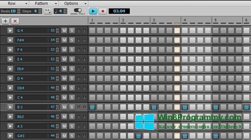 Скриншот программы Cakewalk Sonar для Windows 8