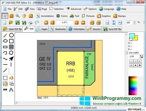Скриншот программы PDF Reader для Windows 8