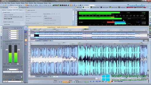 Скриншот программы WaveLab для Windows 8