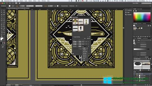 Скриншот программы Adobe Illustrator CC для Windows 8