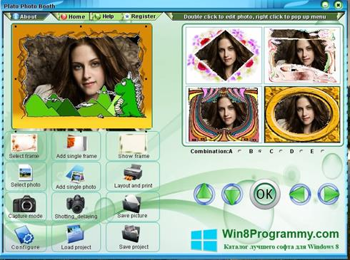 Скриншот программы Photo Booth для Windows 8